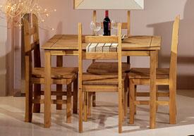 conjunto mesa comedor sillas