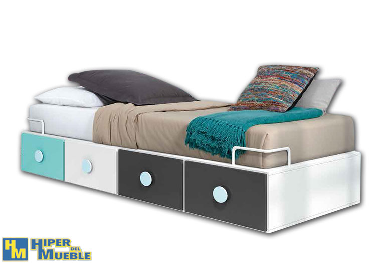 Las mejores ofertas en camas nido y compactos somos for Camas muebles baratas