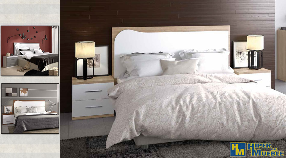 Dormitorio matrimonio for El hiper del mueble