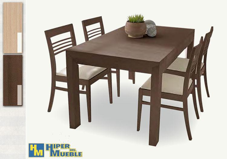 Mesa comedor ext 4 sillas - Mesa comedor 4 sillas ...