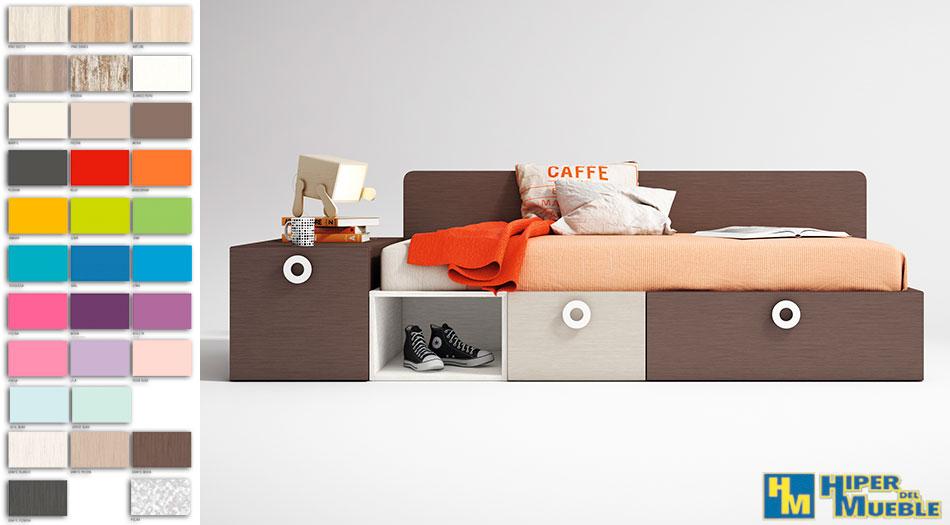 Las mejores ofertas en camas nido y compactos somos for Compactos juveniles baratos